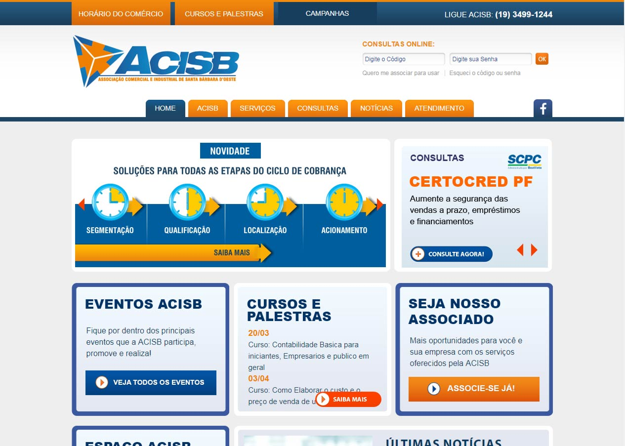 ACISB – Associação Comercial e Industrial de Santa Bárbara d' Oeste