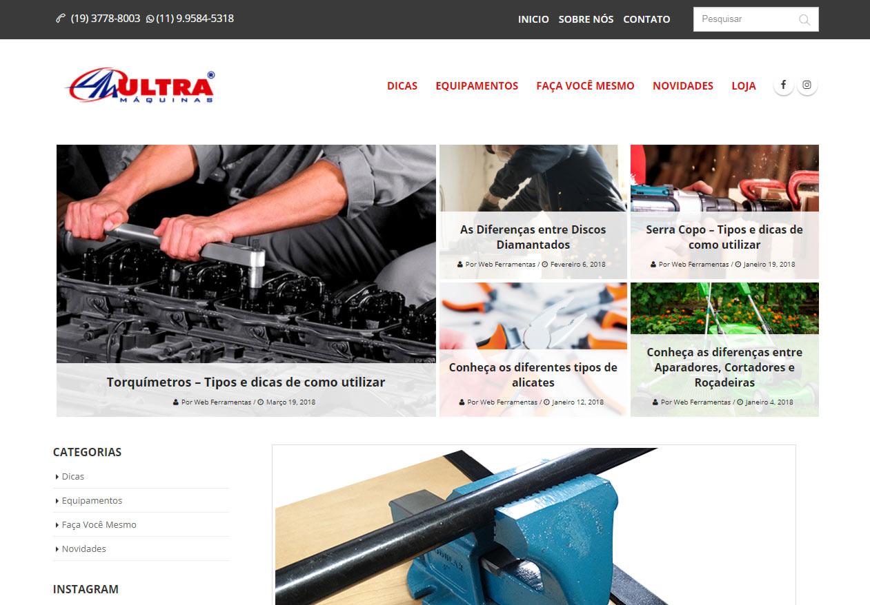Blog Ultra Máquinas