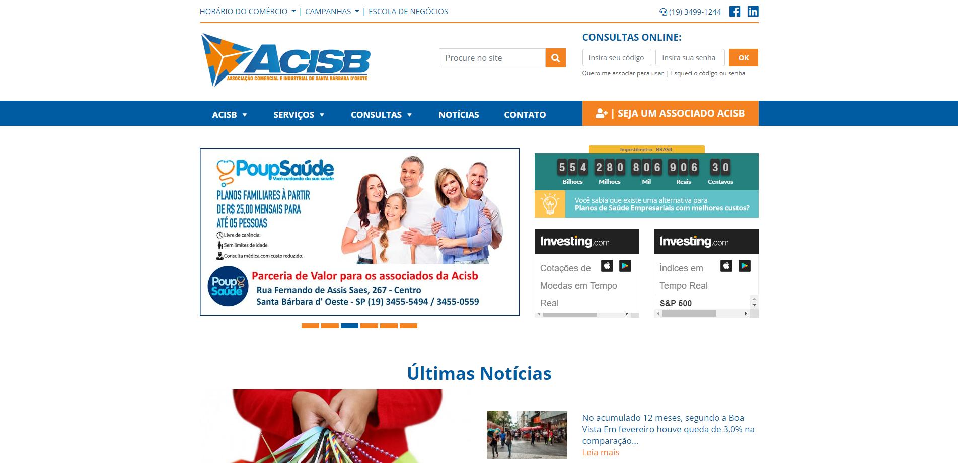 ACISB – Associação Comercial de Santa Bárbara d' Oeste