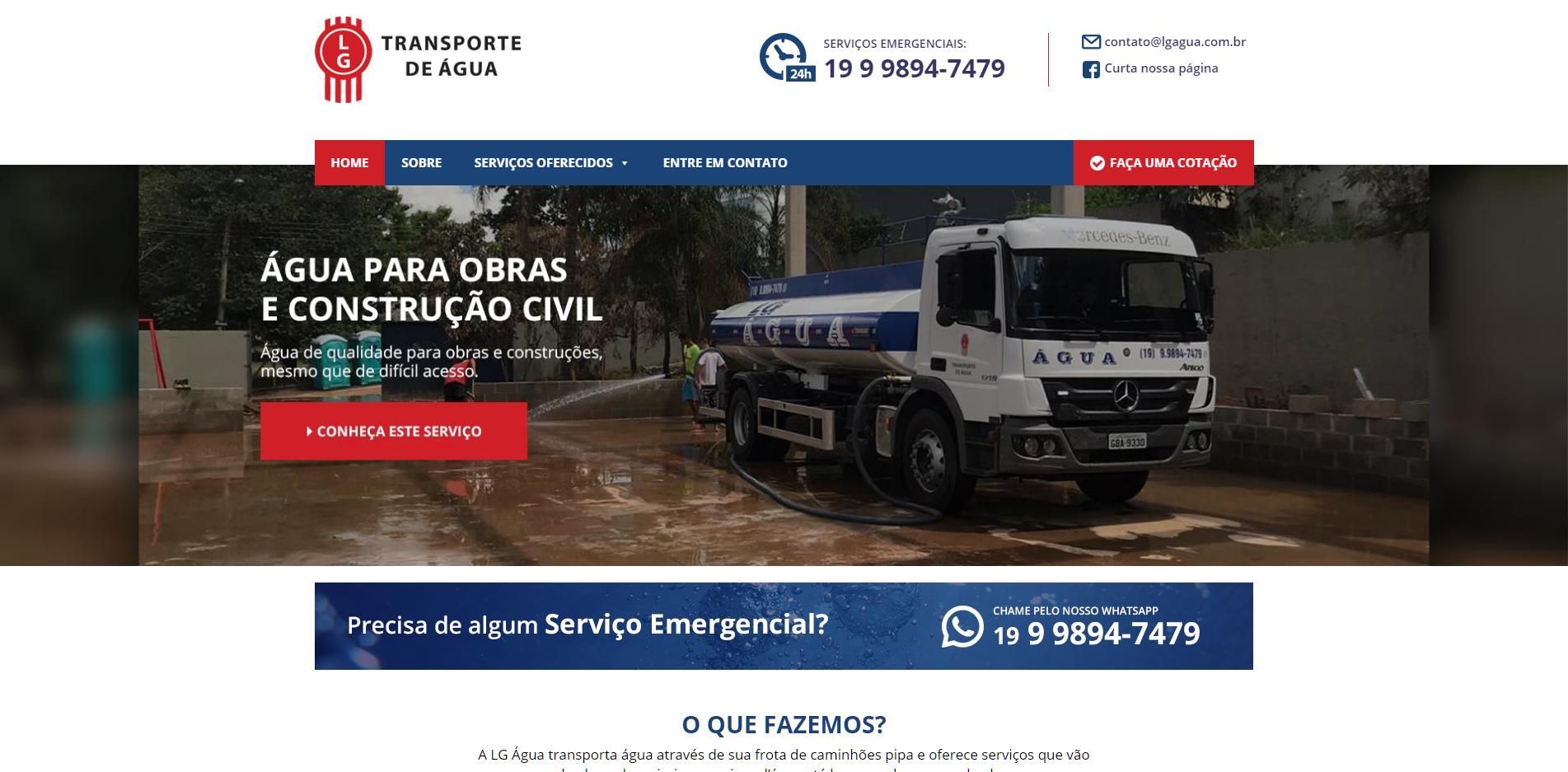 LG Transporte de Água