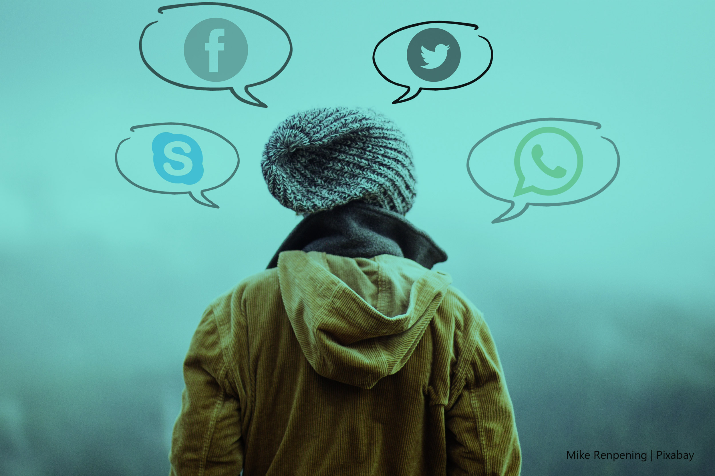 a crise do coronavírus e as redes sociais